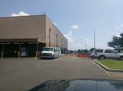 Right side view of Southaven Sam's Club (July 12, 2017) (l_dawg2000) Tags: 2017remodel apparel café desotocounty electronics food gasstation meats mississippi ms pharmacy photocenter remodel samsclub southaven tires walmart wholesaleclub unitedstates usa