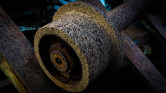 These wheels turn no more (_D4RK_) Tags: coal colliery level drift mine driftmine mining miner coaling abandoned industry