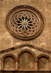 Rosone - Chiesa San Francesco d'Assisi - Palermo (dona(bluesea)) Tags: chiesasanfrancescodassisi chiesa church sicilia sicily palermo