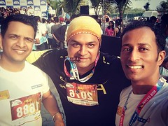10KM #hdfcmarathon #infinitymalad #infinitymall #hdfc #hdfcmaladrun2018 #hdfcmaladrun #marathon (Prashant Karkera) Tags: instagram prashant karkera mobile uploads february 25 2018 0948pm
