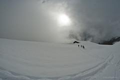 DSC_2653 (Ciscobolo) Tags: ciaspolata mountain snow snowline aostavalley champoluc hike cloudy fisheye landscape whitespace horizon ciscophoto