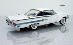 1960 Chevrolet Impala Hardtop Sport Coupe (JCarnutz) Tags: 124scale diecast franklinmint 1960 chevrolet impala