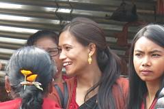 La fête à Bhaktapur (Népal) (michele 69600) Tags: bhaktapur népal asie asia visage face