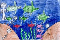 özel çocuklarımızın etkinliğimize renk ve anlam kattıkları çok özel resimleri