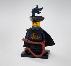 His Majesty of Oleon's Coachman (Robert4168/Garmadon) Tags: brethrenofthebrickseas minifigure lego oleon coachman dark blue