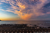 Life is good on the other side of the tracks (sarahOphoto) Tags: 6d australia beach canon cloudage clouds cloudscape coast landscape nature ocean outdoors oz penguin rail railtrack railway sea sky sunset tasmania track train preservation bay