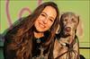 Zwei, die die Sonne geniessen (gabrieleskwar) Tags: outdoor sonne frau hund haare sonnenschein farbe licht schatten