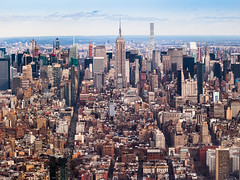 ESB (sulo~) Tags: 2017 newyork usa winter empire state building skyline skyscrapers chrysler 6th avenue uptown 432 park central tower