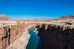 Colorado River, Marble Canyon, Arizona (paccode) Tags: solemn mojave d850 colorful landscape winter river canyon water desert serious arizona quiet mesa hills mountain marblecanyon unitedstates us