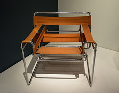 B3 chair - Marcel Breuer (Tim Evanson) Tags: clevelandmuseumofart jazzage b3chair marcelbreuer chair canvs streamlinemoderne