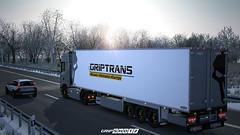 Scania S520 - Nardo Grey Edition WiP [ETS2] (gripshotz) Tags: scania s520 nardo grey grip trans chereau trailer euro truck simulator ets 2