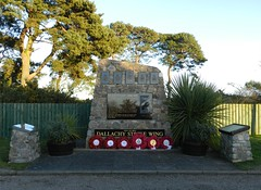 Dallachy Strike Wing Memorial, Bogmoor, Morayshire, Jan 2018 (allanmaciver) Tags: dallachy strike wing memorial bogmoor royal air force raf 1944 1945 remeber lestweforget aircrew norway moray north sea world war skill service men women action wreaths airfield allanmaciver german shipping supplies bombed commonwealth squadrons