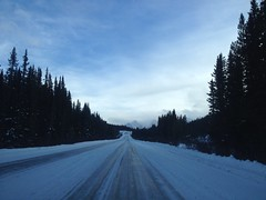 Homeward Bound (Mr. Happy Face - Peace :)) Tags: scenery landscapes rockies canmore banff iceroads