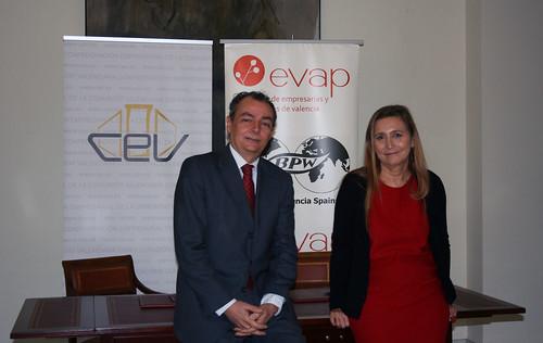 Salvador Navarro y Eva Blasco
