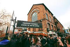 Camden Town (Rebecca Murphys) Tags: london city camdentown travel passion holidays holiday londra bigben british happy felice street art walk architecture