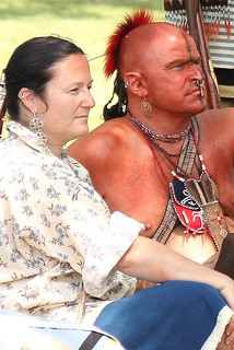 Native American Warrior and His Woman