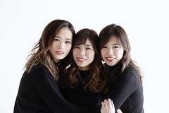 3 girls (redshoes99) Tags: canon 5dmarkiii portrait girls weman japan japanese studio lighting strobe white 2470mm tokyo group