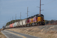 DCR Road Local HA-1 @ Cheswold, DE (Darryl Rule's Photography) Tags: 2018 branch dcr delaware delmarvacenrtral diesel diesels emd freight freightcar freighttrain freighttrains ha1 interchange january ns norfolksouthern pc prr penncentral pennsy pennsylvaniarailroad railroad railroads sd403 shortline sun sunny traintrains winter