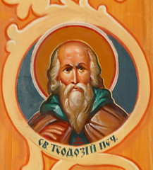 Sts. Cyril and Methodius Saint with Green Cowl (Jay Costello) Tags: stscyrilandmethodiusukrainiancatholicchurch stscyrilandmethodius ukrainiancatholic ukrainian catholic church god worship religion architecture canada ontario stcatharines stcatharinesonm on ca