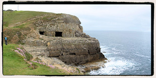Tilly Whim Caves, in May 2017, set in the beautiful Durlston National Nature Reserve, on the Isle of Purbeck, Swanage, Dorset.4