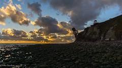 PB point surfers (borders92109) Tags: clouds pacific beach san diego california la jolla windy rocks point waves sunrays sony a6000 6000 50mm f18
