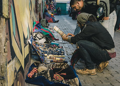 The Bracelets (claudiorojas!) Tags: nikon lapaz filmlike street streetphotography nikond3400 beige oldschool tourist bolivia