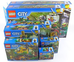 LEGO City Jungle All Sets 01 (noriart) Tags: lego city jungle all sets
