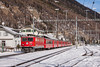 Good memory (VTZK) Tags: churfilisurstmoritz ge662 rhb trein bever graubünden switzerland ch business train railscape railscapes passenger transport transportation rail railroad sustainable zug bahn mobility photo image spoorweg chemindefer spoorlijn eisenbahn winter snow alps mountains cold rhätische