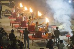 In holy Varanasi (Tim Brown's Pictures) Tags: india varanasi benares ganges river gangesriver religion hindu hinduism pilgrims travel color people boats uttarpradesh faith prayer