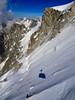 View from Téléphérique Aiguille du Midi. Descending to mid station Le Plan de l'Aiguille. (elsa11) Tags: aiguilledumidi leplandelaiguille lespelerins glacier gletscher gletsjer montblancmassif chamonix alps alpen mountains hautesavoie rhonealps lespelerinsglacier cablecar téléphériqueaiguilledumidi france frankrijk