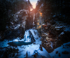 Reinbach Watterfalls (Croosterpix) Tags: landscape nature waterfall alps italy water rocks winter cold snow sony a7r tamron 1530