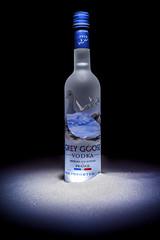 Grey Goose Vodka (tomi.wahlroos) Tags: vodka bottle alcohol grey goose greygoose snow sugar drink
