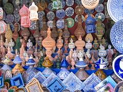 Cerámica (Micheo) Tags: elzocodekairouan zoco medina mercado market vacaciones artesania ceramica pottery alfareria recuerdos memories 2007
