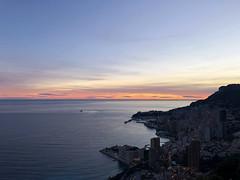 2018 winter on the Riviera [XVI] (Olivier So) Tags: france frenchriviera riviera sunset sky clouds monaco montecarlo