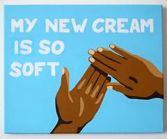 My New Cream (SisiMissa) Tags: yo acrylic gangsigns art benoit jammes canevas
