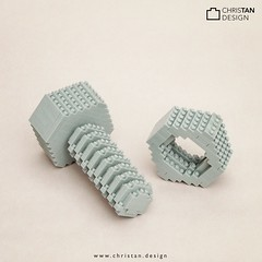 nanoblock Nut and Bolt (inanoblock) Tags: screw bolt nut custom brickart brickartist nanobrick miniblock lego moc blocks bricks ナノブロック nanoblock