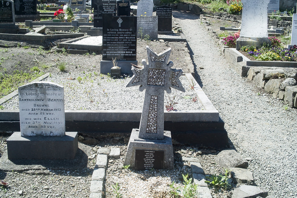 BACK IN JANUARY 2009 I VISITED THE OLD GRAVEYARD IN HOWTH [I HAD TO LEAVE BECAUSE I WAS ATTACKED BY GULLS]-135906