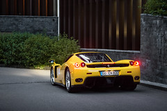 Viva la Enzo. (dutchwithacamera) Tags: ferrari event enzo enzoferrari yellow supercar sportscar spotting spot switzerland supercarownerscircle shoot autogespot amazing amazingcar amazingcars247 auto andermatt carphotography car cars carspotting carphoto carspot photography photo nikon nikond7200 50mm itswhitenoise