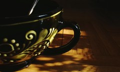Shady (photographymemories) Tags: coffee mug afternoon afternoonlight light shadows