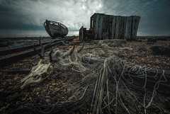 no strings attached (stocks photography.) Tags: seaside coast photography beach photographer dungeness michaelmarsh dramatic cinematic atmospheric moody kent coastal ~appictureoftheweek