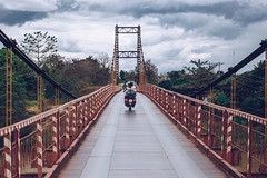 Kon Tum area (dogslobber) Tags: kon tum vietnam motorcycle trek tour motor bike easy rider travel adventure wander explore traveler wanderer bridge suspension