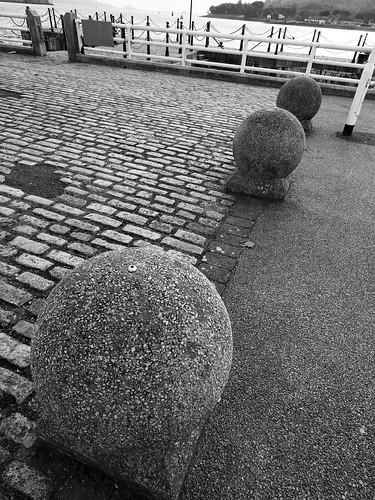 spherical bollards