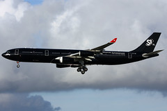9h-tqm a343 egkk (Terry Wade Aviation Photography) Tags: a343 hfm egkk special