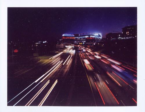 Broncos Stadium Night