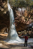 Ice Climbing a Frozen Copperas Falls (sniggie) Tags: appalachia copperasfalls easternkentucky kentucky redrivergorge ice icicles winter