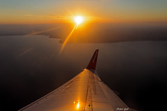 Mallorca - Anflug - noch mit airberlin (Peter Goll thx for +6.000.000 views) Tags: 2014 mallorca urlaub erlangen sunrise sonnenaufgang holliday vacation majorca malle flug areoplane flight flugzeug ocean meer sea water sky insel spanien spain