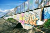 Graffiti wall (Ernesti88) Tags: sand beach batubolong wall graffiti canggu bali