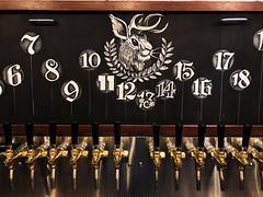 Numbered Draft Board (middle) (Night Owl Signs) Tags: chalkart chalk chalkmarkers art roc 585 chalkboard biergarten