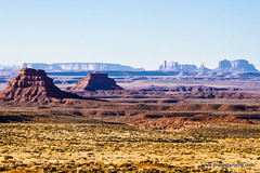 Monument Valley from the Valley of the Gods (doveoggi) Tags: 9319 valleyofthegods utah landscape monumentvalley buttes mesas