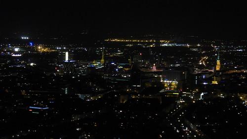 Dortmund, Stadtmitte seen from Florianturm [10.12.2014]